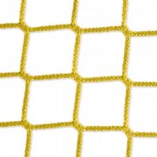 Goal net yellow - 3 x 2 m, 4 mm PP, 80 100 cm