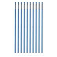 10 Slalom poles 170 cm diameter 32 mm - Blue