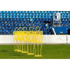 5 professional training dummy 185 cm - Yellow