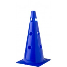 Cone with holes Height 38 cm Blue
