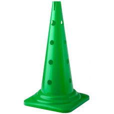 Cone with holes Height 52 cm Green