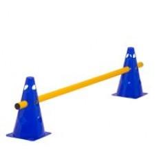 Cone Hurdle Single Hurdle Height 23 cm Blue