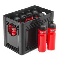 T-PRO BottleCarrier box for drinking bottles Black