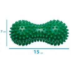 Peanut Spikey Ball (Massage Ball) 15x7 cm - Colour: Green