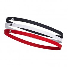 adidas 3 Pack Hairbands 010