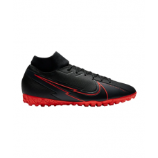 Mercurial Superfly VII Black X Chile Red Academy TF 060