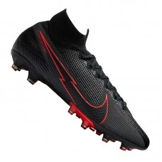 Mercurial Superfly VII Black X Chile Red Elite AG-Pro 060