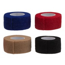 Bandage (self-adhesive) 2.5 cm x 4 m - 4 in Blue