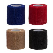 Bandage (self-adhesive) 5 cm x 4 m - in red