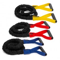Power bungee cord 4 - for strengthening arms + upper body yellow light