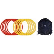 COORDINATION CIRCLES YAKIMA (SET OF 12 PIECES) + BAG